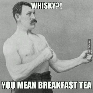 Whisky breakfast the