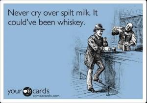 Whisky og mælk